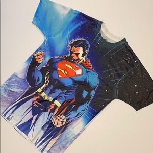 Other - Superman T-shirt. Size M. Athletic Material.
